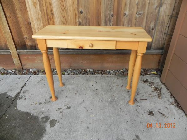 via Pottery Barn Teen ($1199). Craigslist finds: This sofa table is listed ...